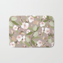 Almond orchard Bath Mat