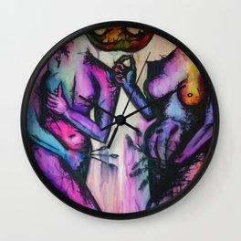 Adam and Eve Wall Clock