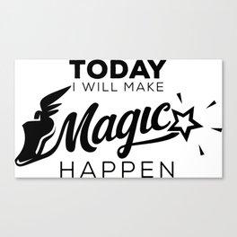 Magic Runner Canvas Print