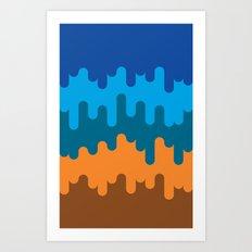 British Summer Art Print