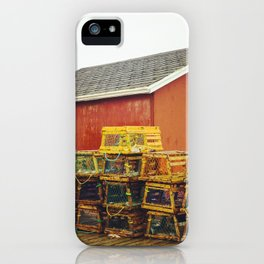 Stage and Traps iPhone Case