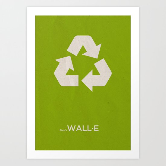 Pixar's Wall·E Art Print