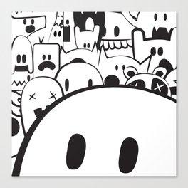 Monstah! Canvas Print