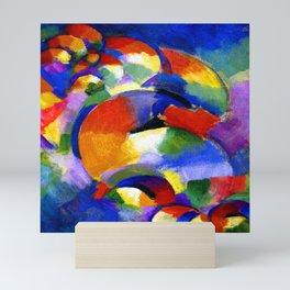 Morgan Russell Cosmic Synchromy Mini Art Print