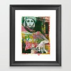 Bonnie Faye Framed Art Print