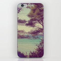 French Beach iPhone & iPod Skin