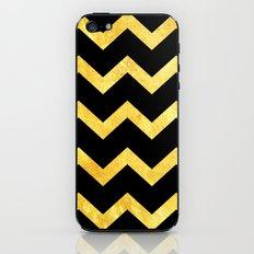 BLACK&GOLD: Chevron iPhone & iPod Skin