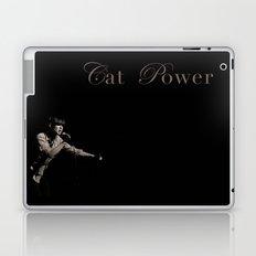 Cat Power Laptop & iPad Skin