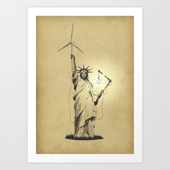 And then there was light Art Print