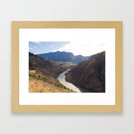 British Columbia Framed Art Print