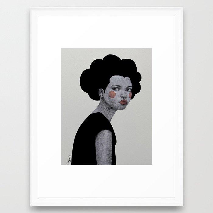 Cornelia Framed Art Print by sofiabonati | Society6