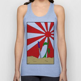 Hold Fast For Sunrise Is Here Unisex Tank Top