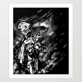 Ghost Collection Art Print