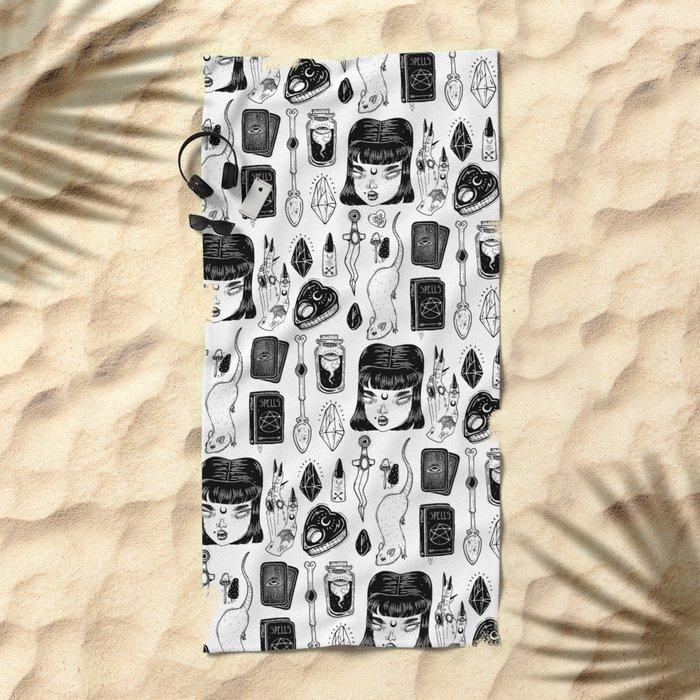 teen Witch Beach Towel