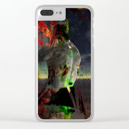 Pitcher Up Clear iPhone Case