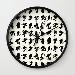 Tribal 1 Wall Clock
