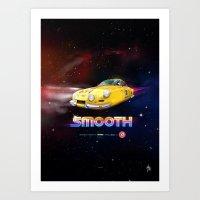 SMOOTH (Tribute to Artua) Art Print