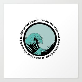 Ocean Discovery Art Print