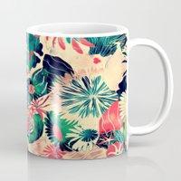 jungle Mugs featuring Jungle by Demi Goutte