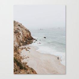 malibu coast / california Canvas Print