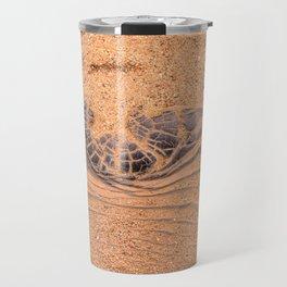 Wood in the Sand Travel Mug