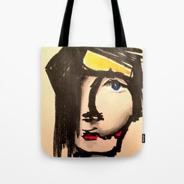 A face of a different women Tote Bag