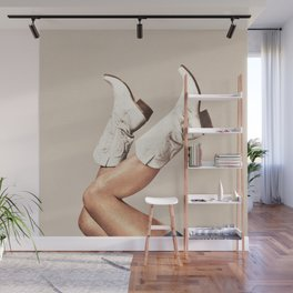 These Boots - Neutral Wall Mural