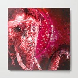Elephante Metal Print