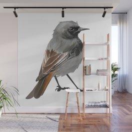 Grumpy Junco Bird Wall Mural