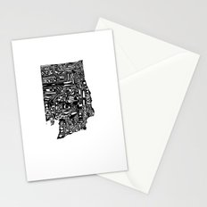 Typographic Washington Stationery Cards