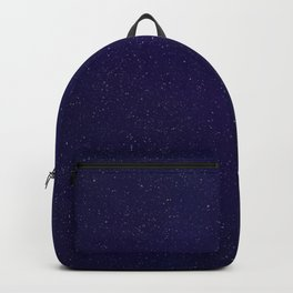 Violet Sky - Galaxy Painting Backpack