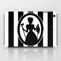 black widow iPad Cases featuring Widow by babydark