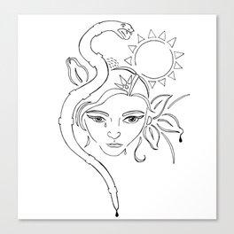 nodapl Canvas Print