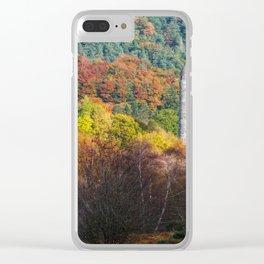 Autumn at Glendalough (RR 171) Clear iPhone Case
