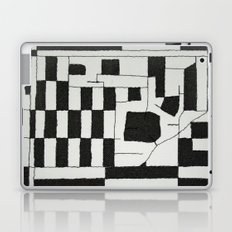 Black & White Map Laptop & iPad Skin
