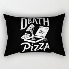 Death by Pizza Rectangular Pillow