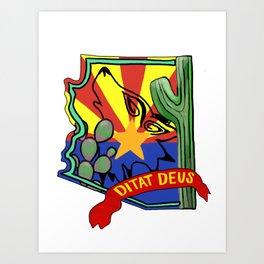 Arizona Pride Art Print