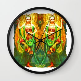 Goddess (3) Wall Clock