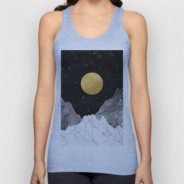 Moon and Stars Unisex Tanktop