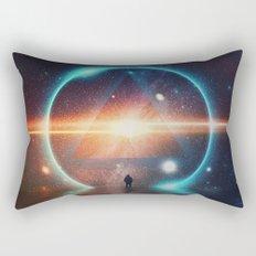 seeing the lights Rectangular Pillow