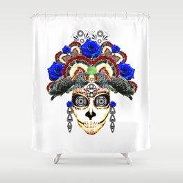 Cruella del Rosa Shower Curtain