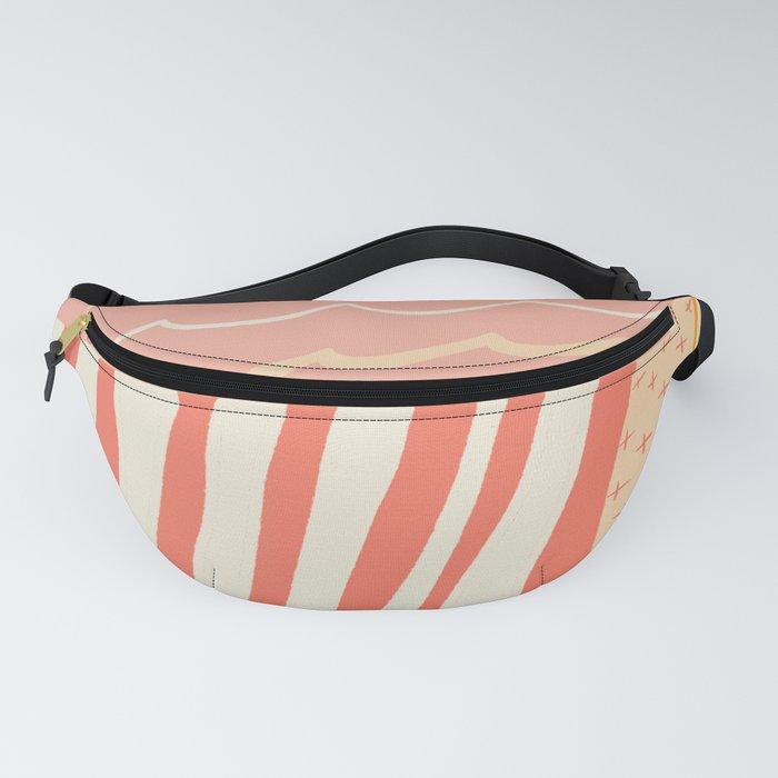 beach quilt Fanny Pack