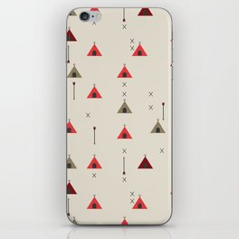 TEE PEE - Tipi - NATIVE NAVAJO PRINT iPhone Skin