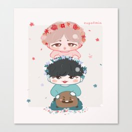 Yoonmin | BTS JIMIN SUGA PRINT Canvas Print