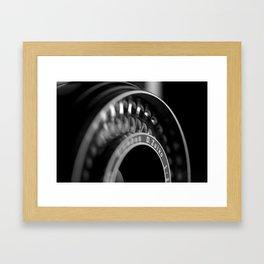 Lense Framed Art Print