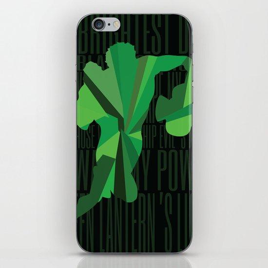Green Lantern - Quote iPhone & iPod Skin