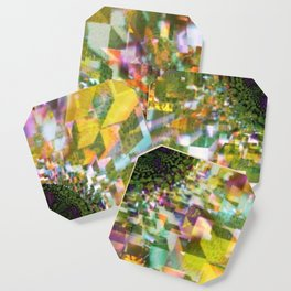 Plier - Multiplied views P of Alphabet collection Coaster