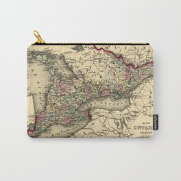 Map Of Ontario 1874 Carry-All Pouch