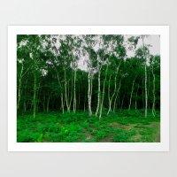 Forestworld Art Print