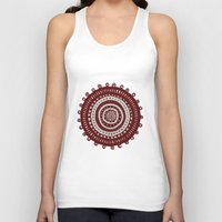 ethnic Tank Tops featuring Ethnic by Iris López